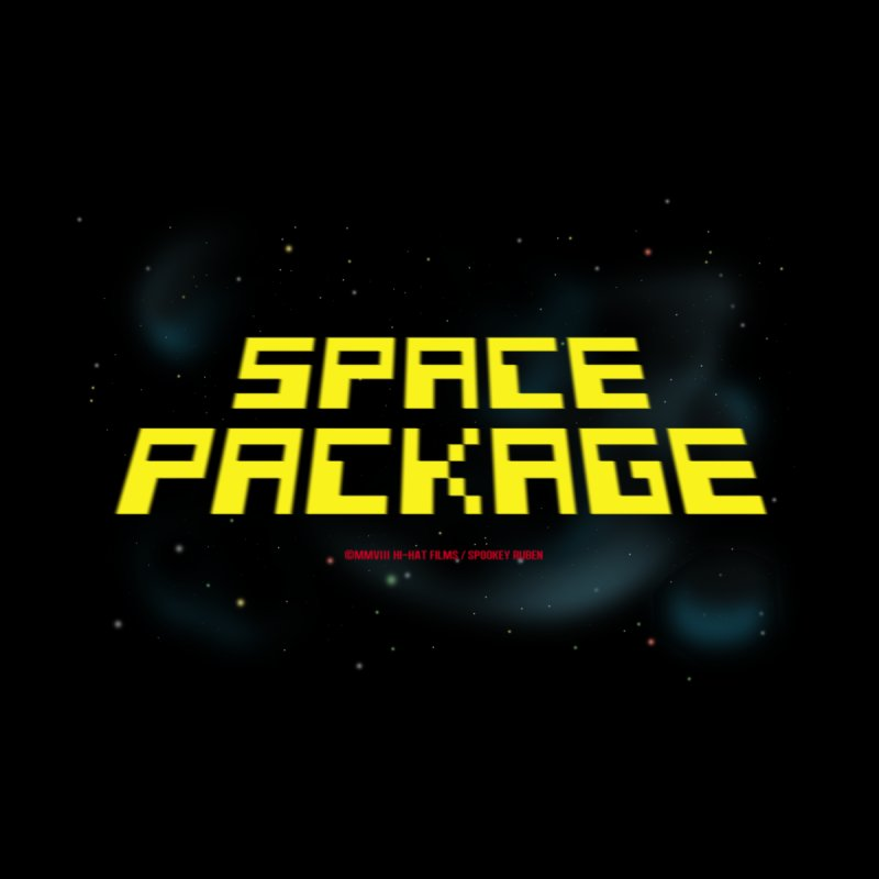 SPACE PACKAGE Men's T-Shirt by Spookey Ruben Clothing Store