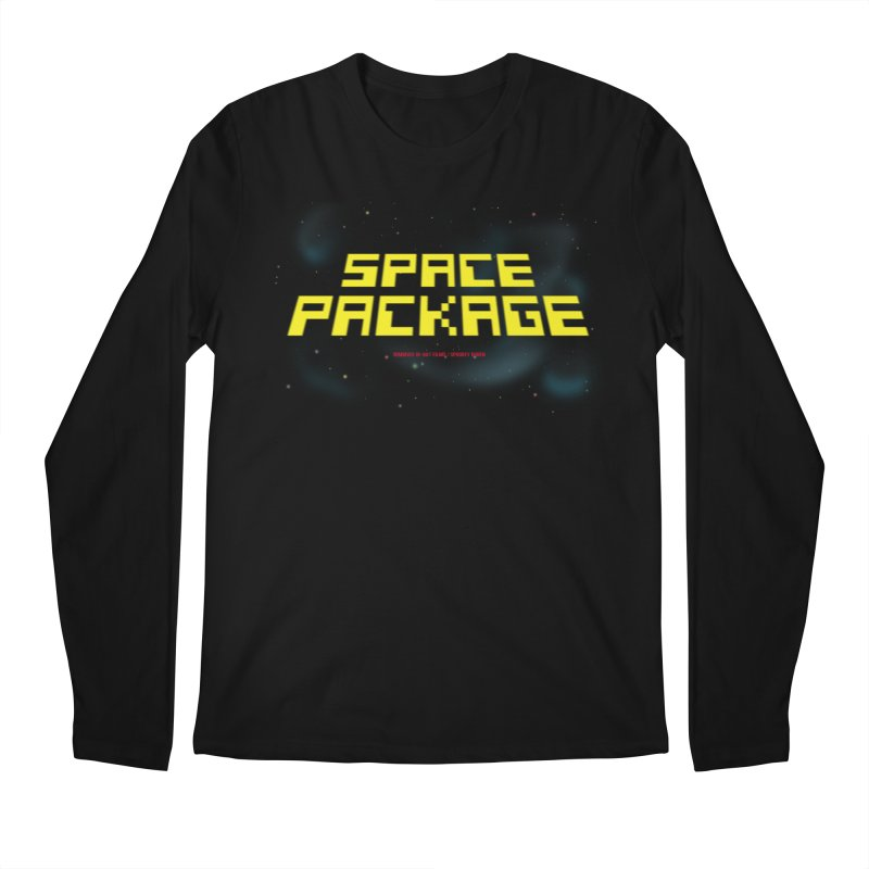 SPACE PACKAGE Men's Longsleeve T-Shirt by Spookey Ruben Clothing Store