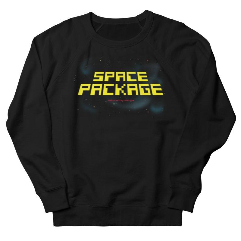 SPACE PACKAGE Men's Sweatshirt by Spookey Ruben Clothing Store