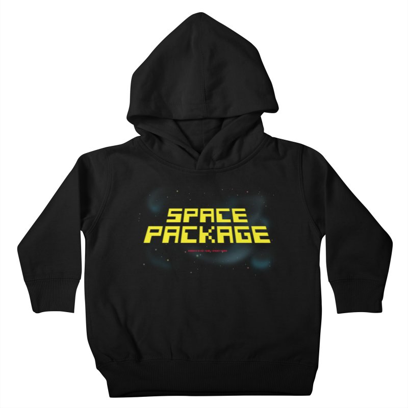 SPACE PACKAGE Kids Toddler Pullover Hoody by Spookey Ruben Clothing Store