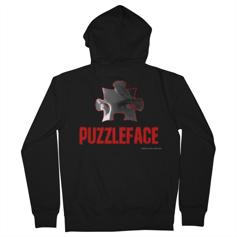 PUZZLEFACE Men's Zip-Up Hoody by Spookey Ruben Clothing Store