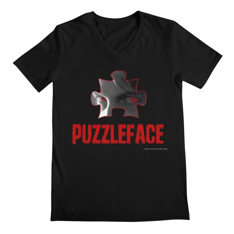 PUZZLEFACE Men's V-Neck by Spookey Ruben Clothing Store