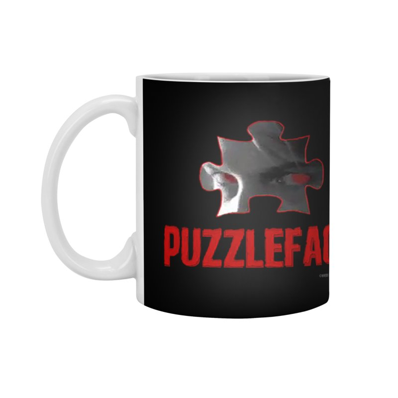 PUZZLEFACE Accessories Mug by Spookey Ruben Clothing Store