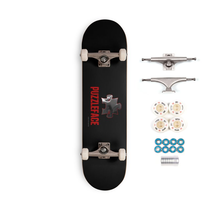PUZZLEFACE Accessories Skateboard by Spookey Ruben Clothing Store