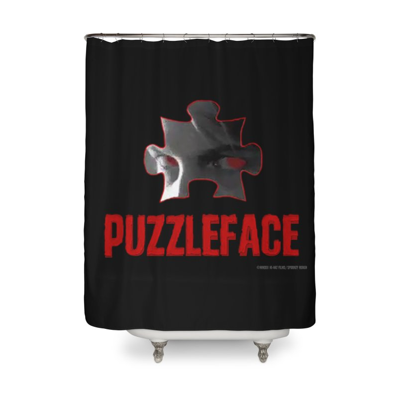 PUZZLEFACE Home Shower Curtain by Spookey Ruben Clothing Store