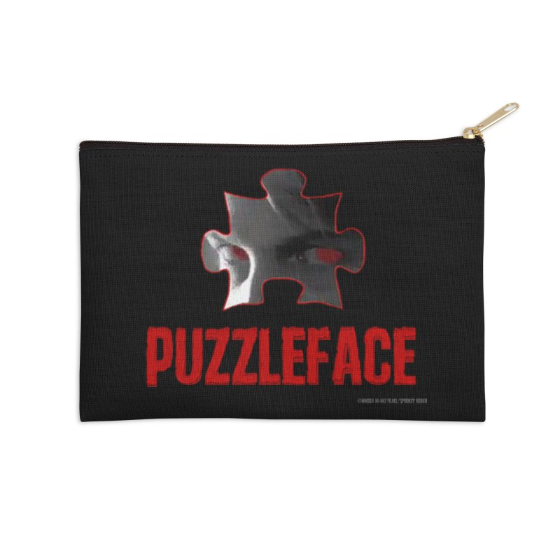 PUZZLEFACE Accessories Zip Pouch by Spookey Ruben Clothing Store
