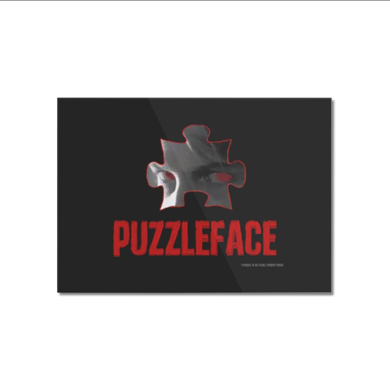 PUZZLEFACE Home Mounted Acrylic Print by Spookey Ruben Clothing Store