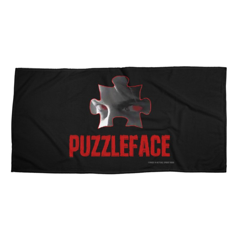 PUZZLEFACE Accessories Beach Towel by Spookey Ruben Clothing Store