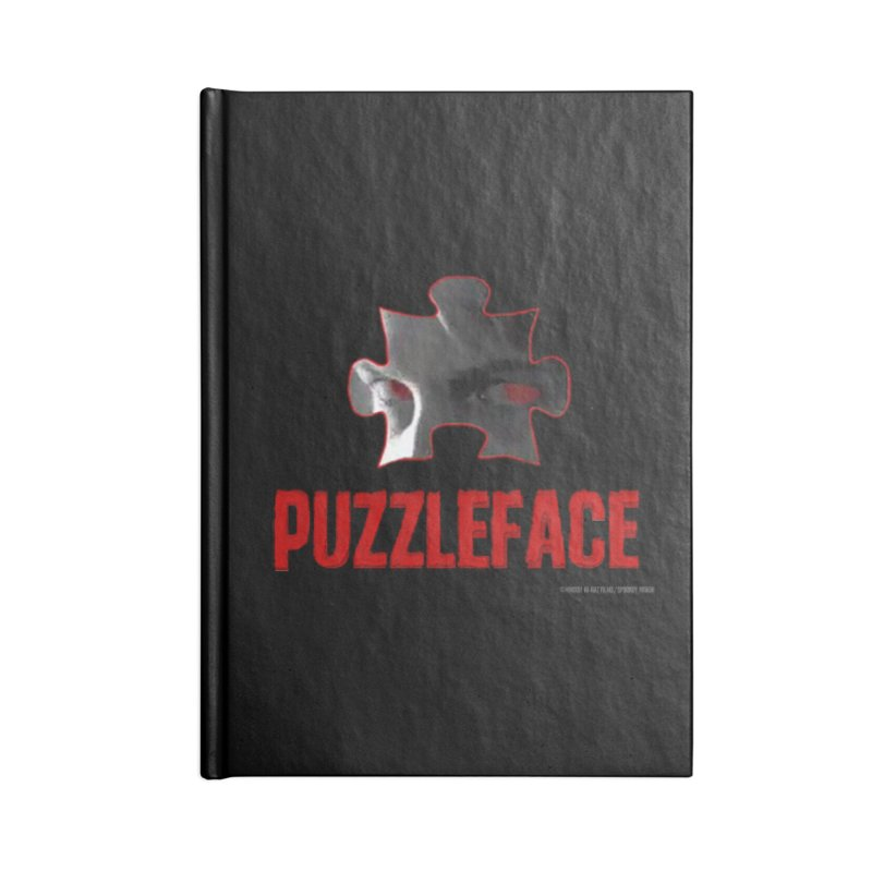 PUZZLEFACE Accessories Notebook by Spookey Ruben Clothing Store