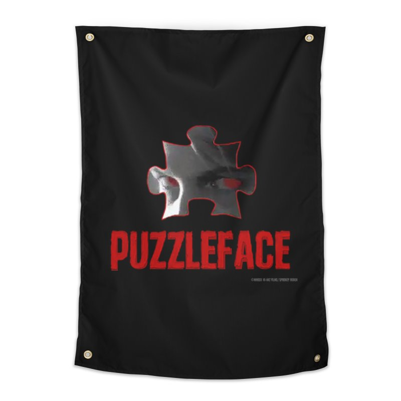 PUZZLEFACE Home Tapestry by Spookey Ruben Clothing Store