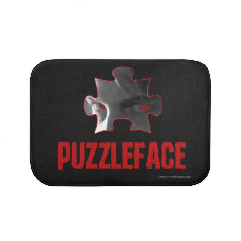 PUZZLEFACE Home Bath Mat by Spookey Ruben Clothing Store