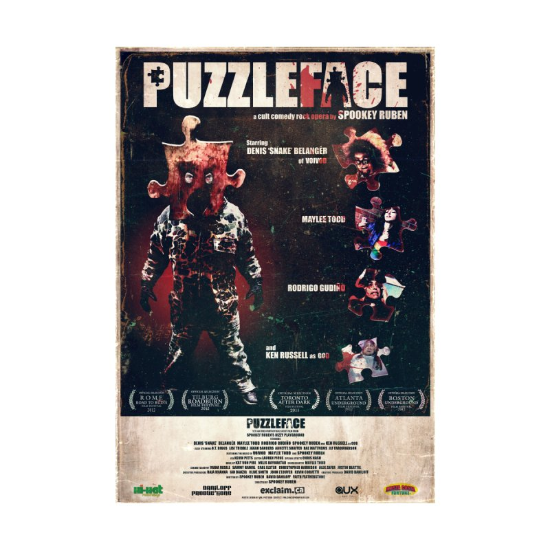 PUZZLEFACE POSTER Home Framed Fine Art Print by Spookey Ruben Clothing Store