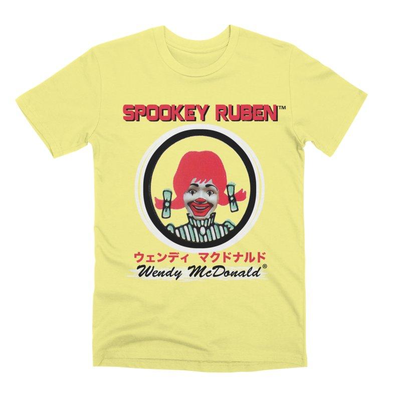 WENDY MCDONALD Men's T-Shirt by Spookey Ruben Clothing Store