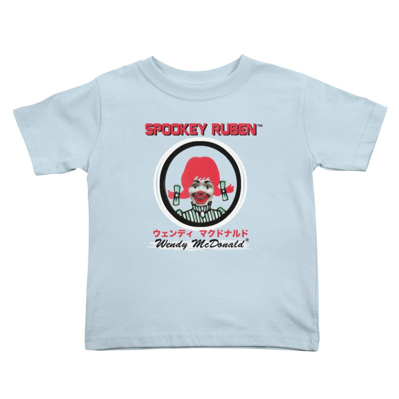 WENDY MCDONALD Kids Toddler T-Shirt by Spookey Ruben Clothing Store