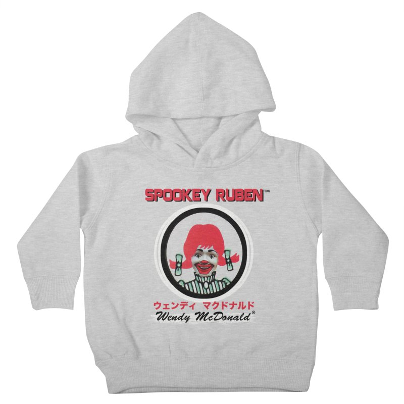 WENDY MCDONALD Kids Toddler Pullover Hoody by Spookey Ruben Clothing Store