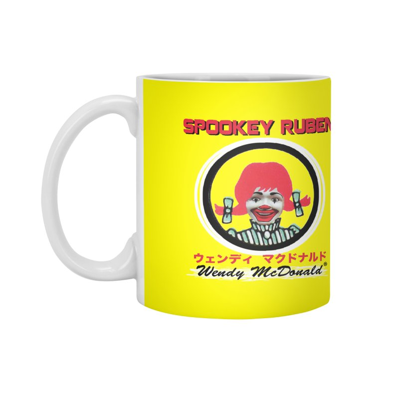 WENDY MCDONALD Accessories Mug by Spookey Ruben Clothing Store