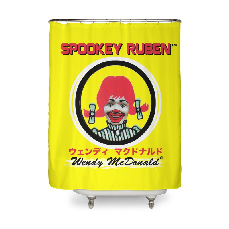 WENDY MCDONALD Home Shower Curtain by Spookey Ruben Clothing Store