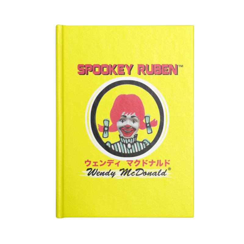 WENDY MCDONALD Accessories Notebook by Spookey Ruben Clothing Store