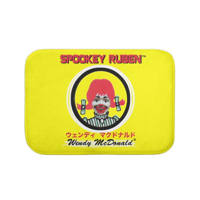 WENDY MCDONALD Home Bath Mat by Spookey Ruben Clothing Store