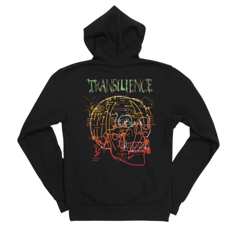 TRANSILIENCE Women's Zip-Up Hoody by Spookey Ruben Clothing Store