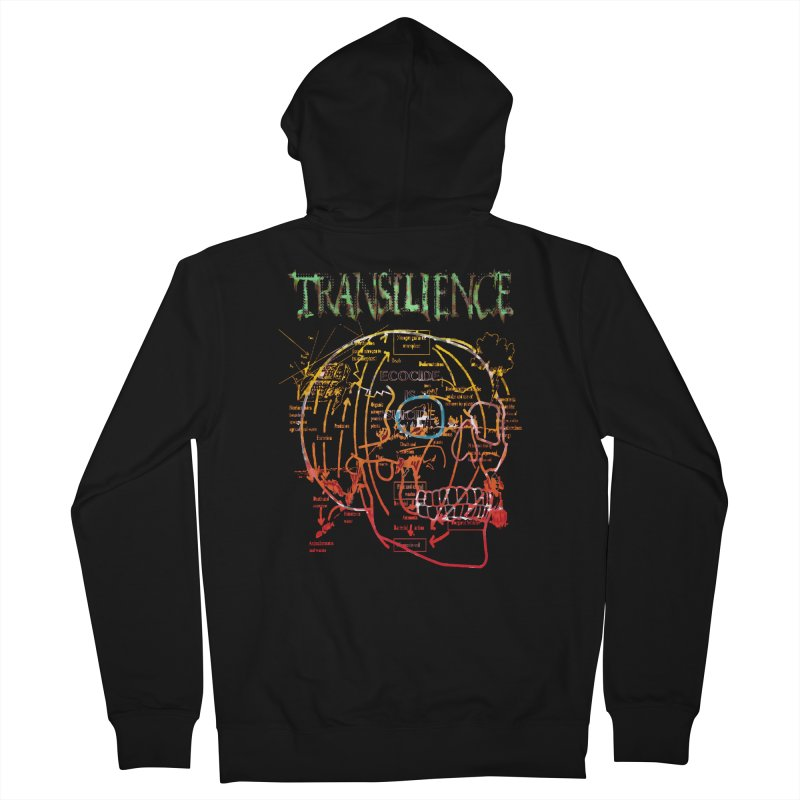 TRANSILIENCE Men's Zip-Up Hoody by Spookey Ruben Clothing Store