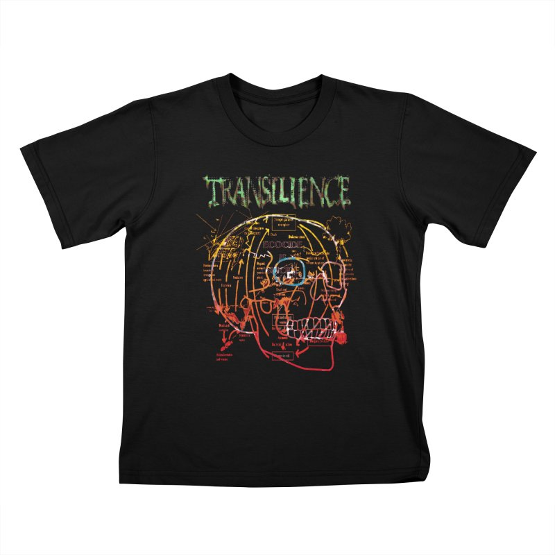 TRANSILIENCE Kids T-Shirt by Spookey Ruben Clothing Store
