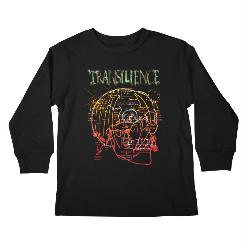 TRANSILIENCE Kids Longsleeve T-Shirt by Spookey Ruben Clothing Store
