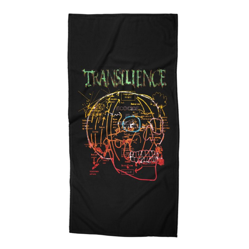TRANSILIENCE Accessories Beach Towel by Spookey Ruben Clothing Store