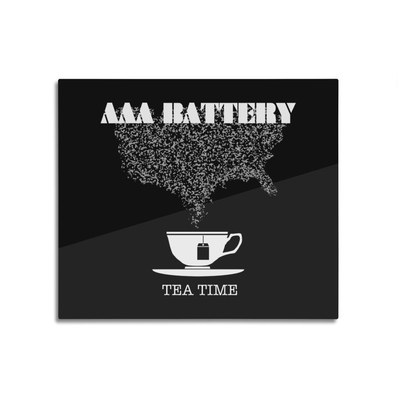 AAA BATTERY Home Mounted Acrylic Print by Spookey Ruben Clothing Store