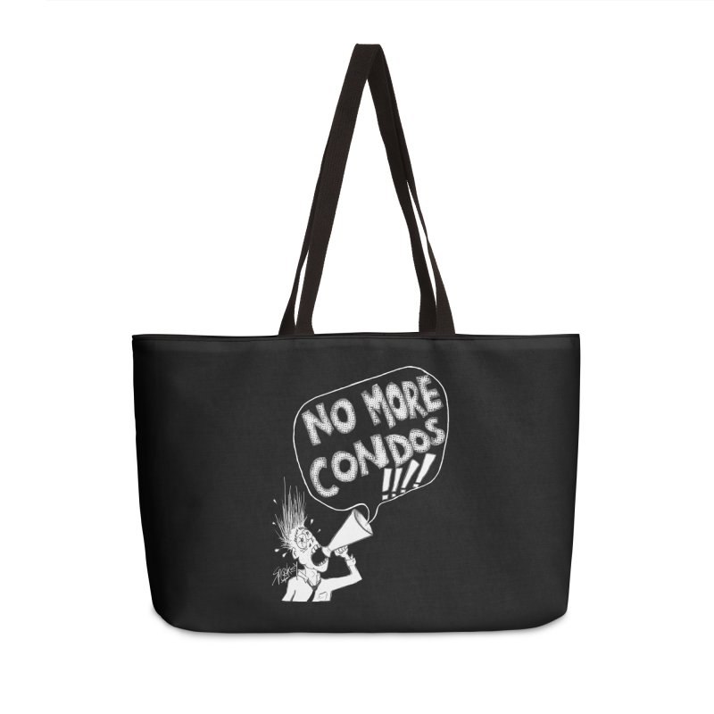 NO MORE CONDOS!!!! Accessories Bag by Spookey Ruben Clothing Store