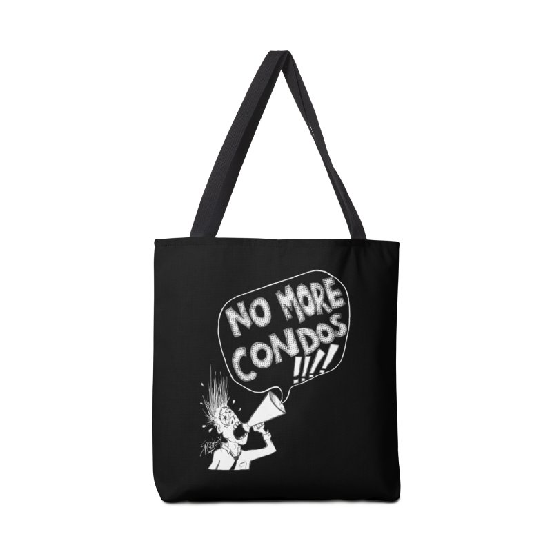 NO MORE CONDOS!!!! Accessories Bag by Spookey Ruben Clothing Store
