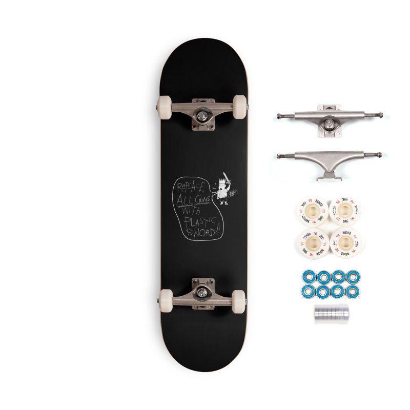 REPLACE ALL GUNS!! Accessories Skateboard by Spookey Ruben Clothing Store