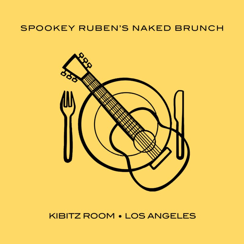NAKED BRUNCH Men's Zip-Up Hoody by Spookey Ruben Clothing Store