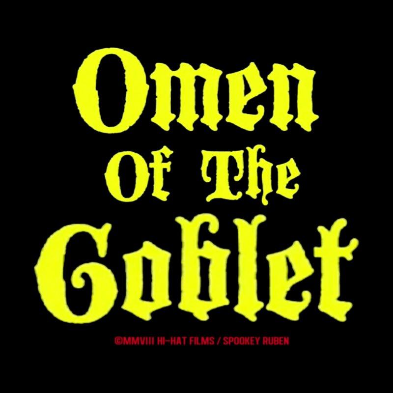 OMEN OF THE GOBLET Men's Zip-Up Hoody by Spookey Ruben Clothing Store