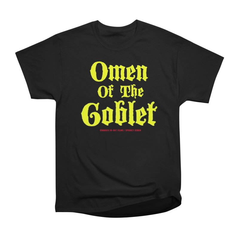 OMEN OF THE GOBLET Men's T-Shirt by Spookey Ruben Clothing Store