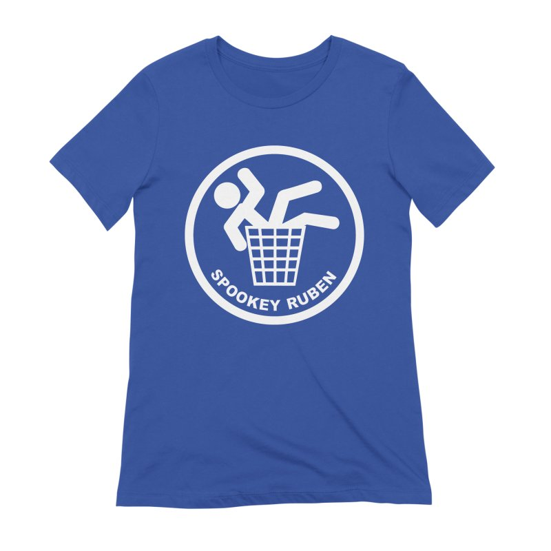 "Spookey Classic ""Man in the Trash' Logo Women's T-Shirt by Spookey Ruben Clothing Store"