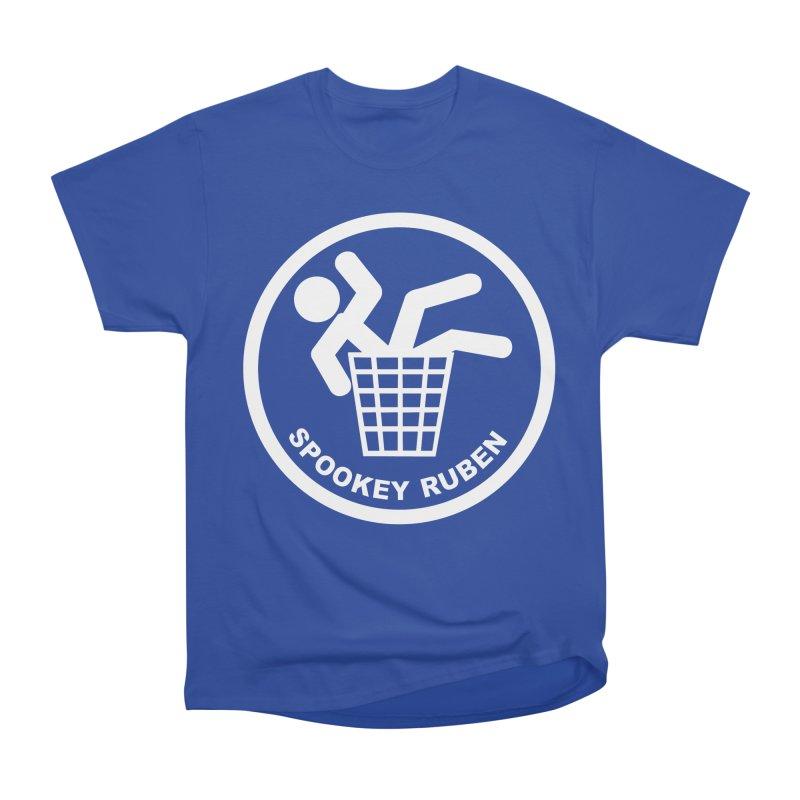 "Spookey Classic ""Man in the Trash' Logo Women's T-Shirt by Spookey Ruben Clothing Store"