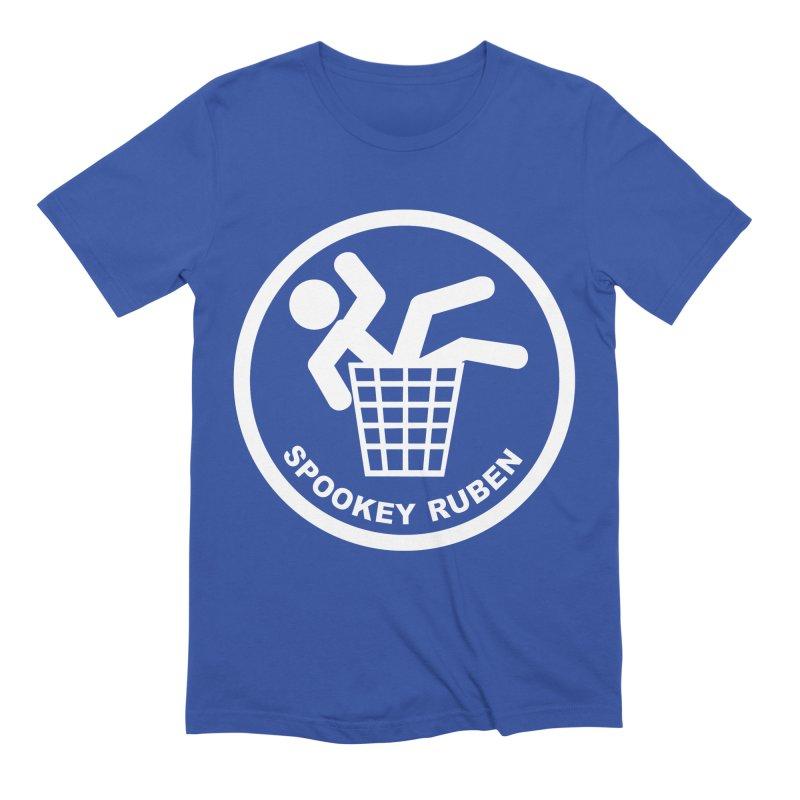 "Spookey Classic ""Man in the Trash' Logo Men's T-Shirt by Spookey Ruben Clothing Store"