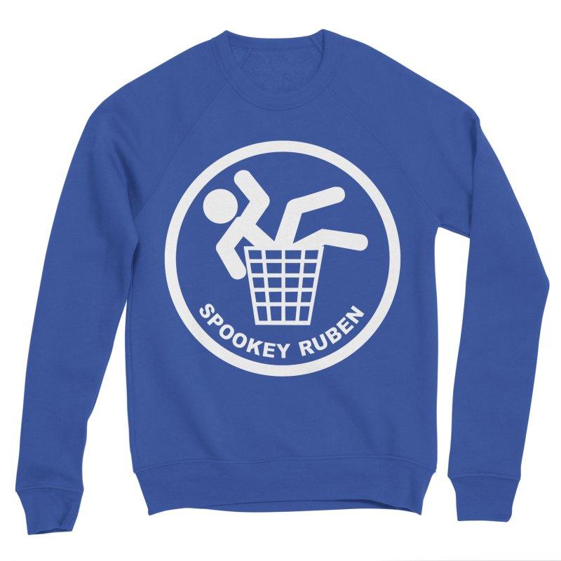 "Spookey Classic ""Man in the Trash' Logo Men's Sweatshirt by Spookey Ruben Clothing Store"