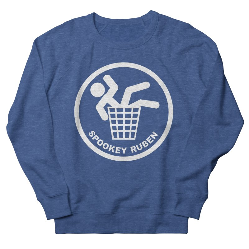 "Spookey Classic ""Man in the Trash' Logo Men's Sweatshirt by Spookey Ruben Clothing Store"