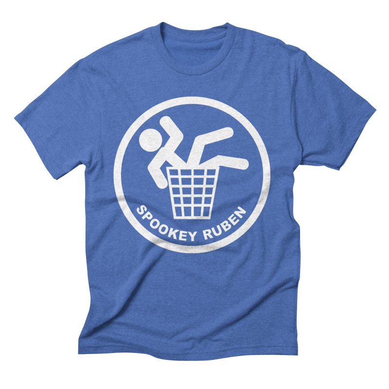 "Spookey Classic ""Man in the Trash' Logo Men's T-Shirt by Spookey Ruben Clothing Store"