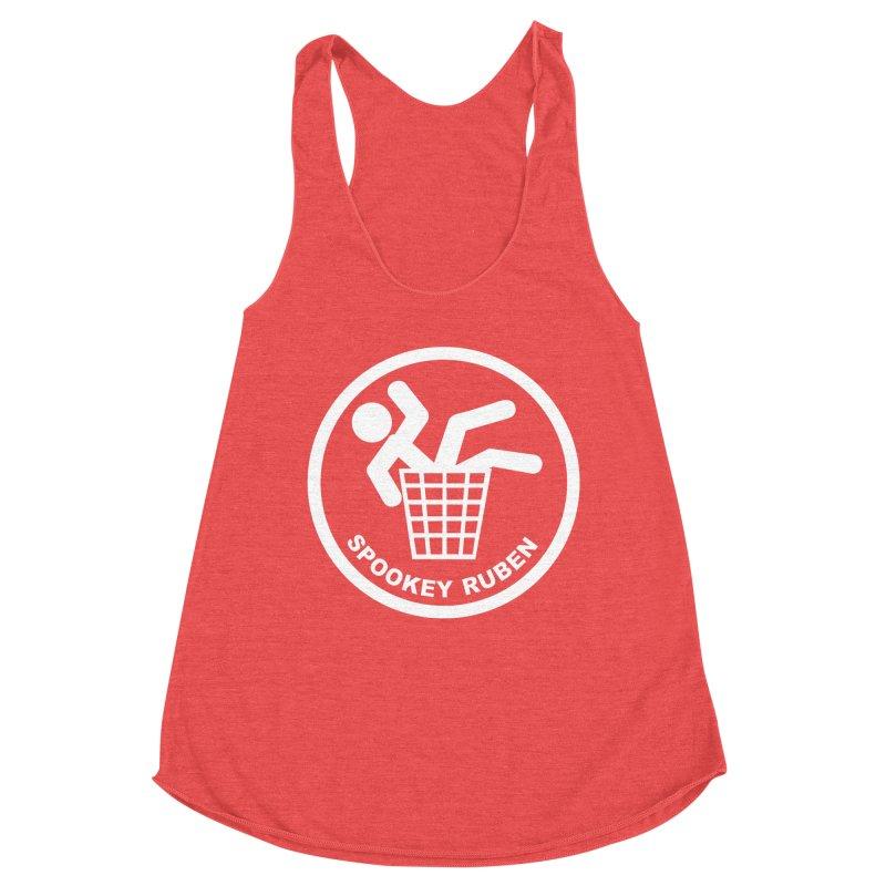 "Spookey Classic ""Man in the Trash' Logo Women's Tank by Spookey Ruben Clothing Store"