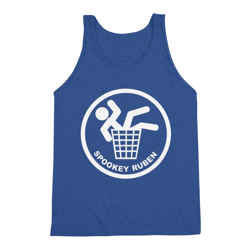 "Spookey Classic ""Man in the Trash' Logo Men's Tank by Spookey Ruben Clothing Store"