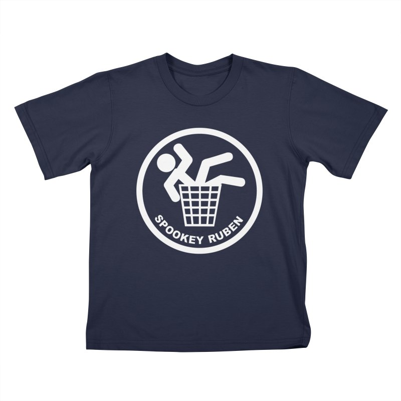 "Spookey Classic ""Man in the Trash' Logo Kids T-Shirt by Spookey Ruben Clothing Store"