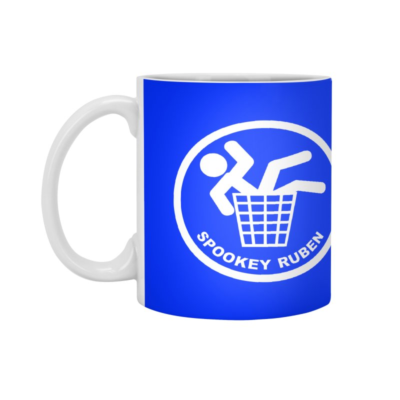 "Spookey Classic ""Man in the Trash' Logo Accessories Mug by Spookey Ruben Clothing Store"