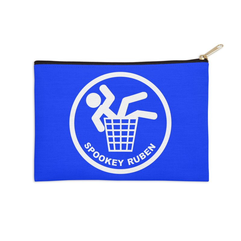 "Spookey Classic ""Man in the Trash' Logo Accessories Zip Pouch by Spookey Ruben Clothing Store"