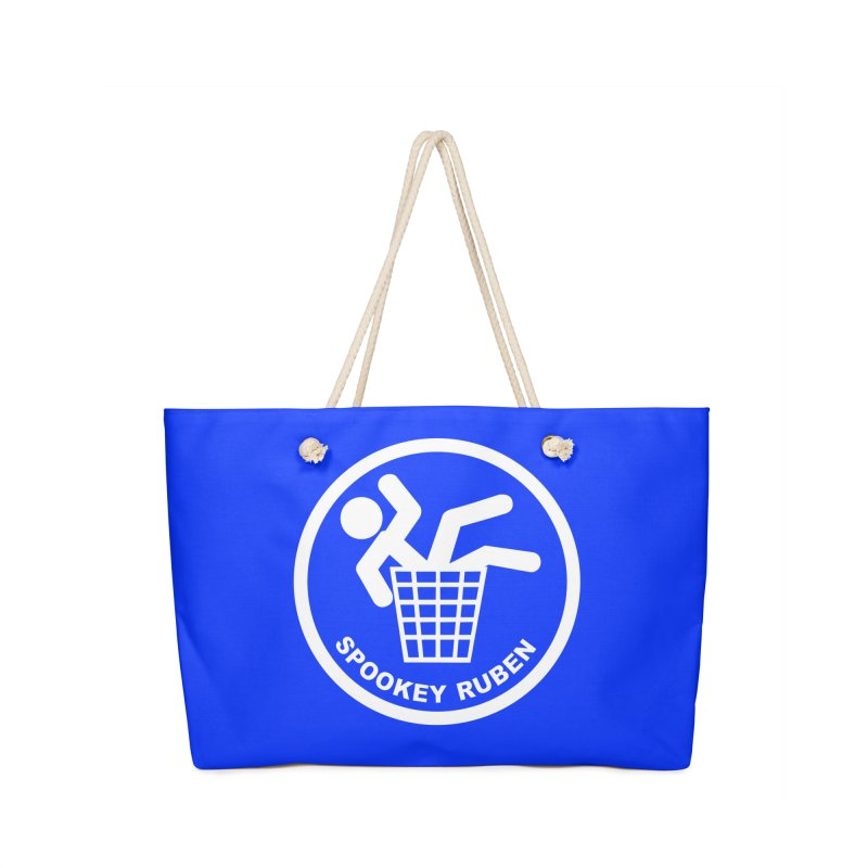 "Spookey Classic ""Man in the Trash' Logo Accessories Bag by Spookey Ruben Clothing Store"