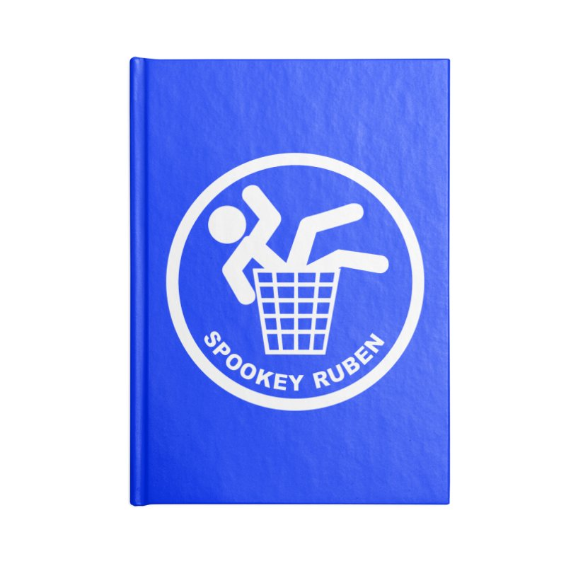 "Spookey Classic ""Man in the Trash' Logo Accessories Notebook by Spookey Ruben Clothing Store"