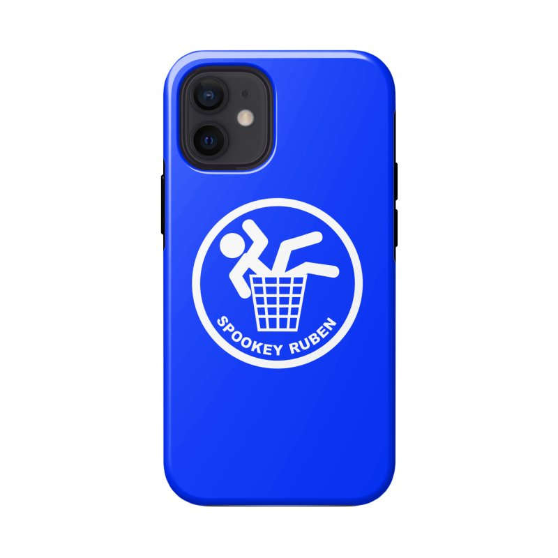 """Spookey Classic """"Man in the Trash' Logo Accessories Phone Case by Spookey Ruben Clothing Store"""