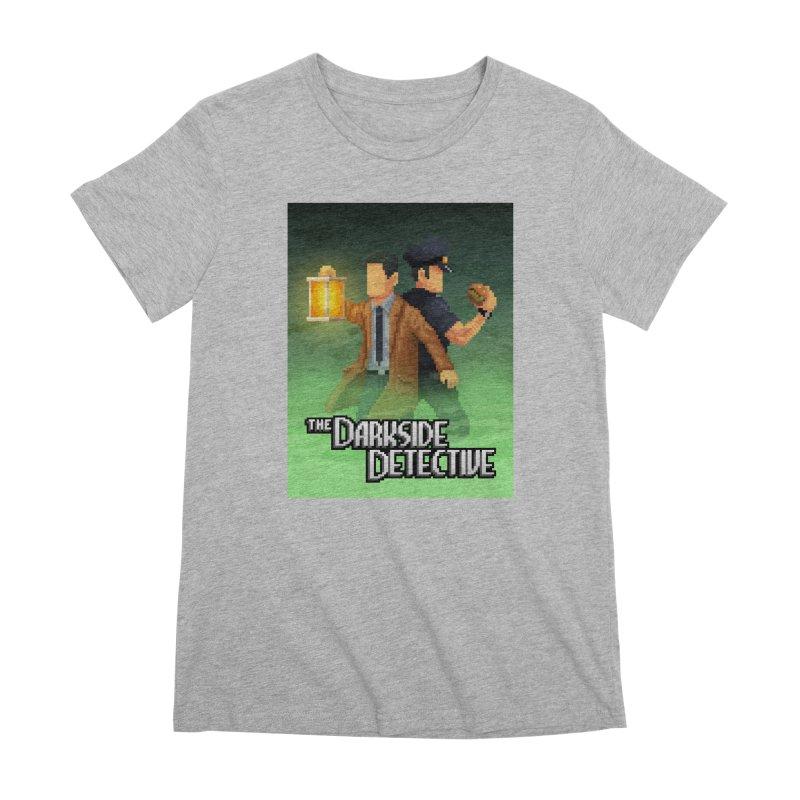 The Darkside Detective Special Edition Women's Premium T-Shirt by Spooky Doorway's Merch Shop